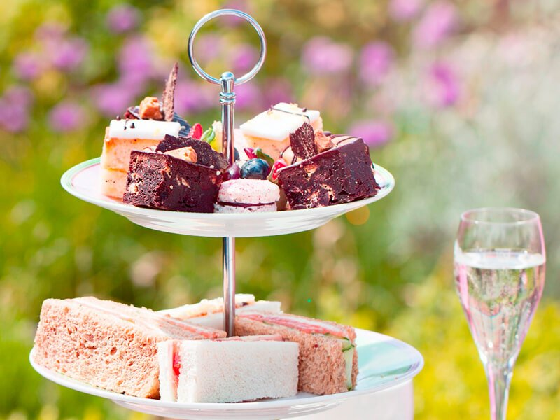 Eckington Manor Afternoon Tea Outside Experience