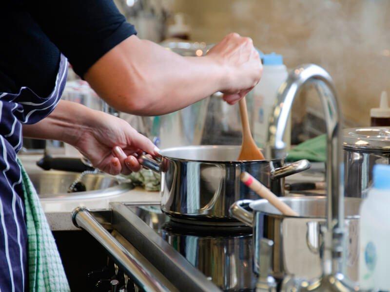 Eckington Manor Cookery School Stove