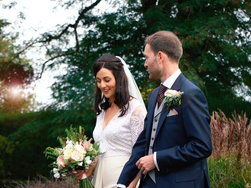 Eckington Manor Couple Holding Hands