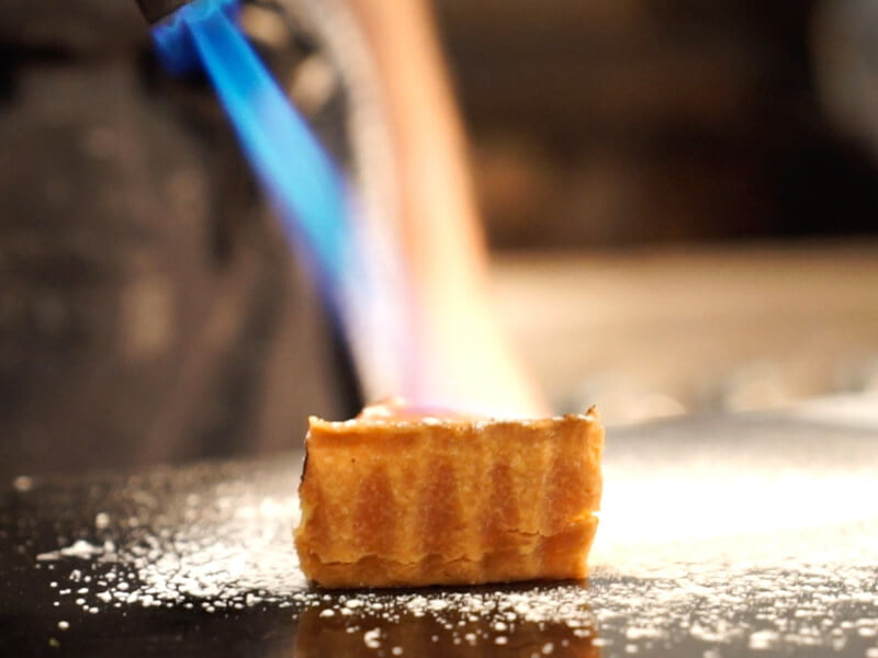 Eckington Manor Food Dessert Flame