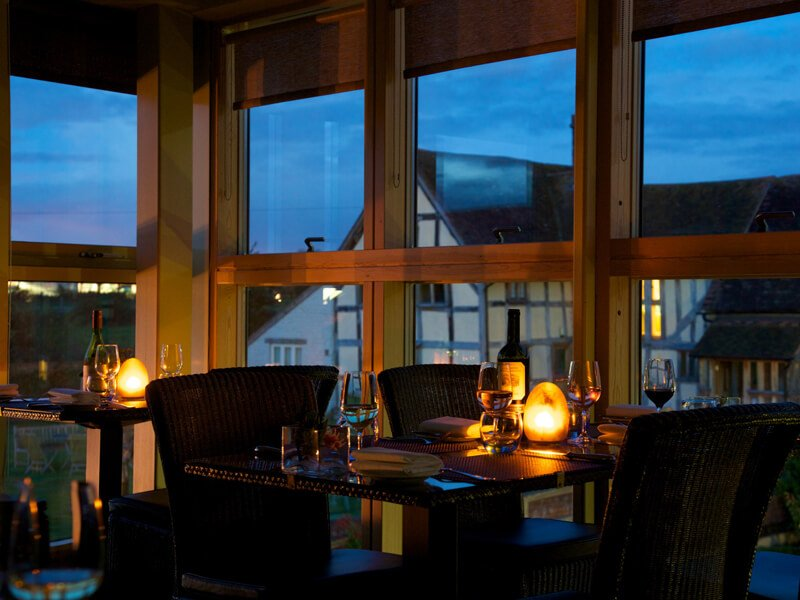 Eckington Manor Restaurant Night