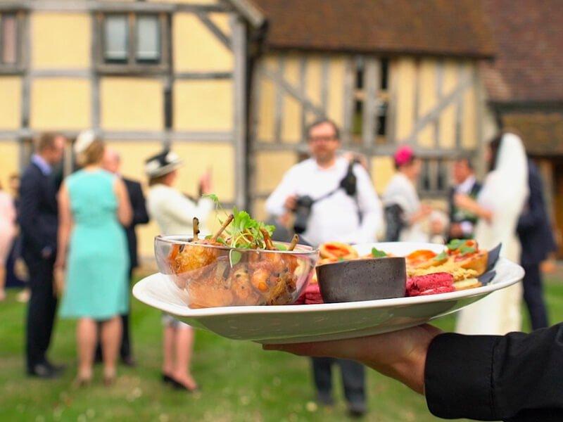 Eckington Manor Wedding Appetisers