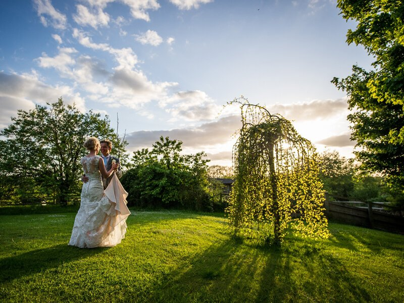 Eckington Manor Wedding Garden