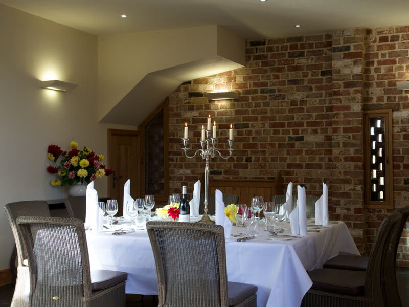 Eckington Manor Wedding Table