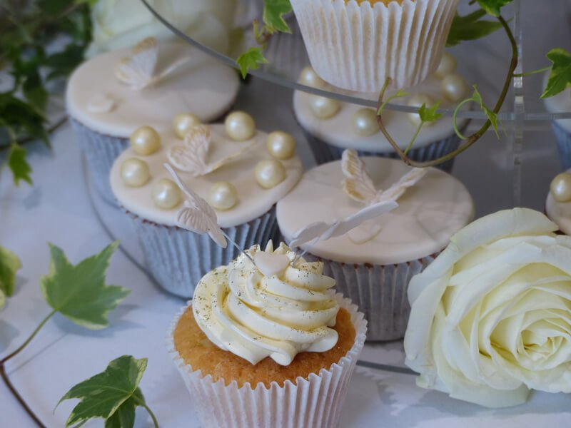 Eckington Manor Weddings Cup Cakes