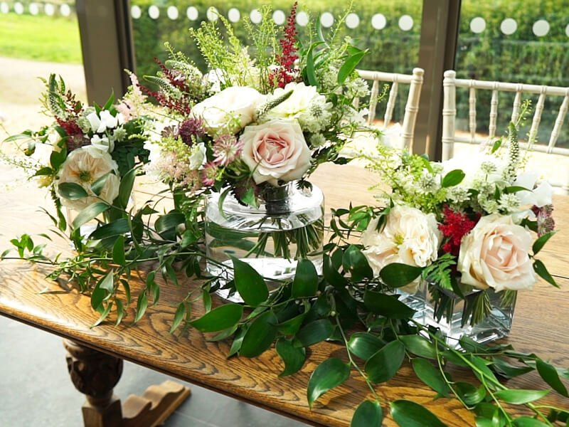 Eckington Manor Weddings Flower Arrangement 1