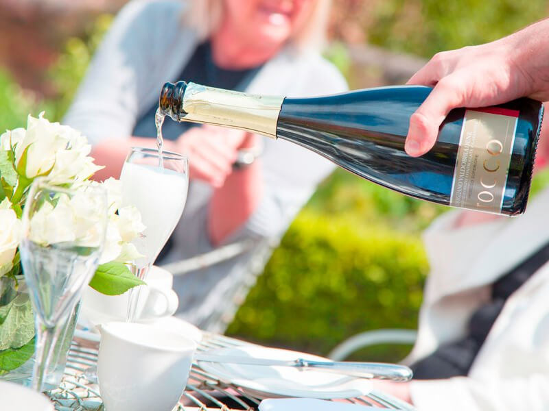 Eckington Manor Weddings Pouring Drink 1