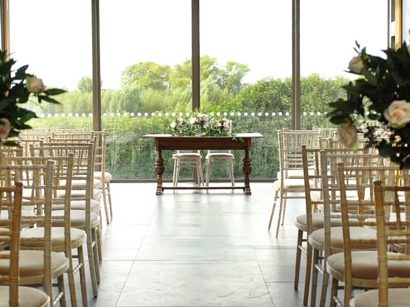 Eckington Manor Weddings Service Space
