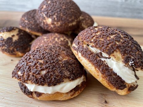 Lockdown Recipes Choux Buns Eckington Manor Cookery School